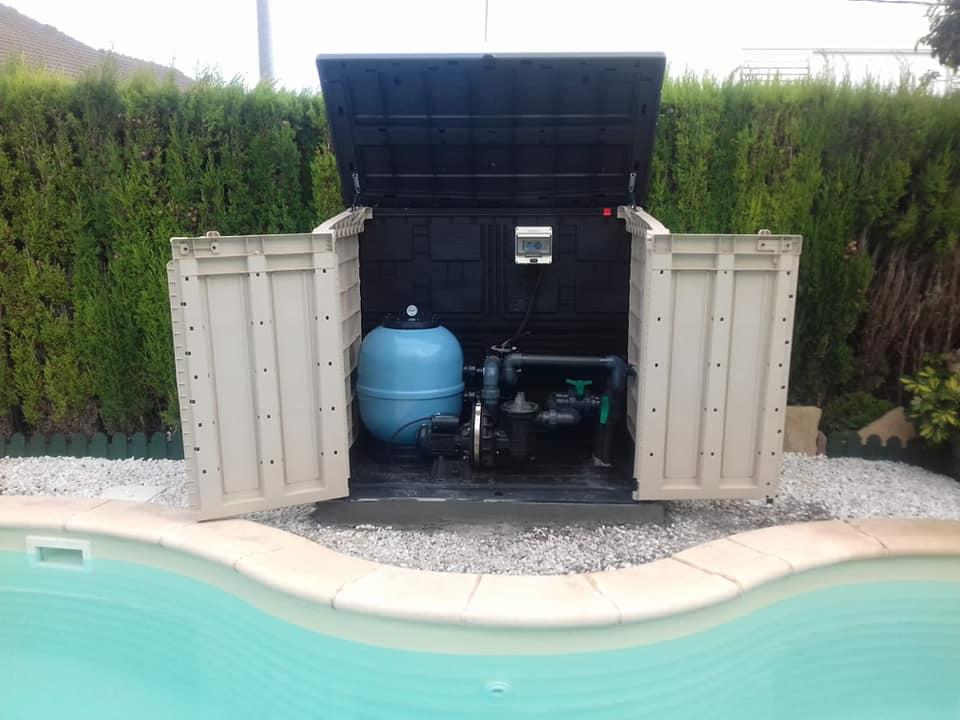 Depuración de piscinas elevadas o enterradas