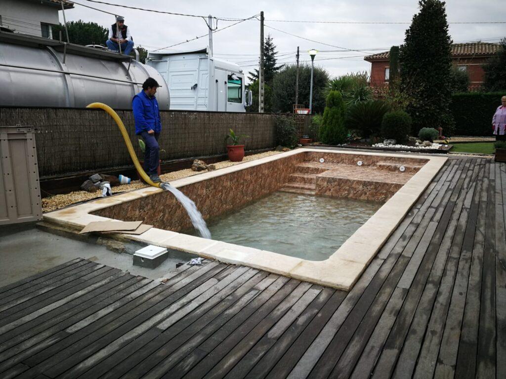 Reparación de piscinas Sant Antoni de Vilamajor