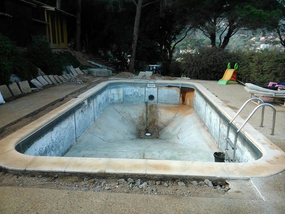 Reparación piscinas Argentona